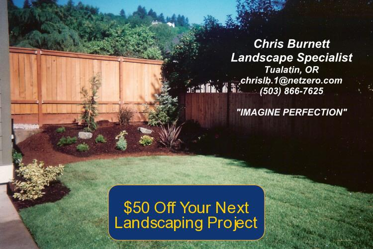$50 Off Your Next Landscaping Project